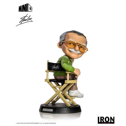 figura stan lee marvel 14 cm iron studios