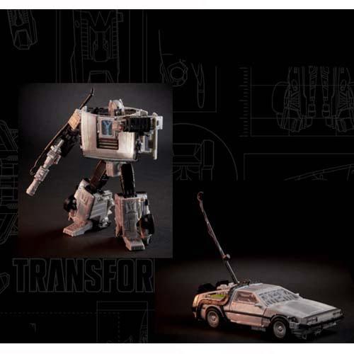 figura transformers gigawat hasbro delorean