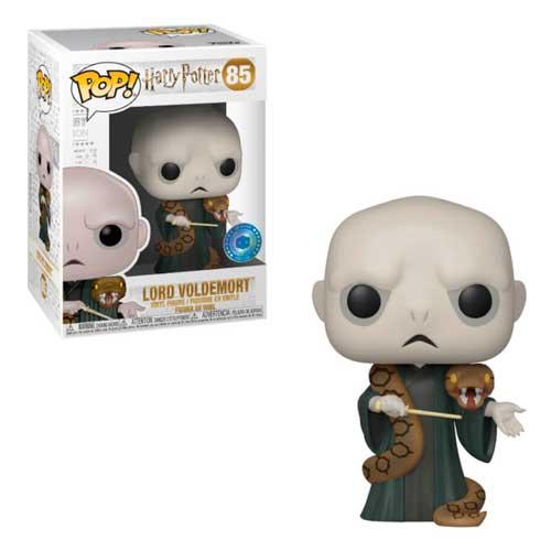 Harry Potter Super Sized POP! Movies Vinyl Figura Voldemort w/Nagini 25 cm