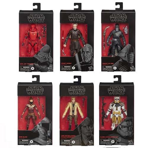 pack 6 figuras star wars s2 black series