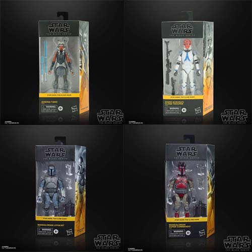 pack star wars black series 4 the clone wars