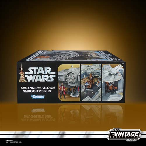 star wars vintage millennium falcon smugglers run