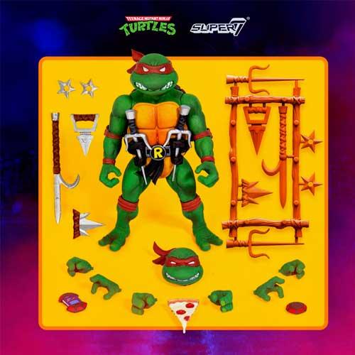 Tortugas Ninja Figura Ultimates Raphael 18 cm