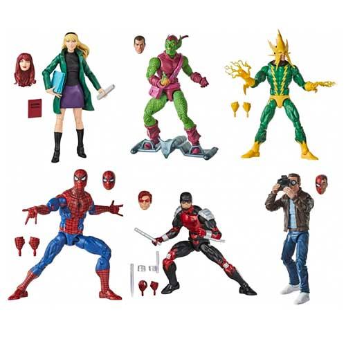 Wave Figuras Spiderman Vintage Marvel Legends Hasbro