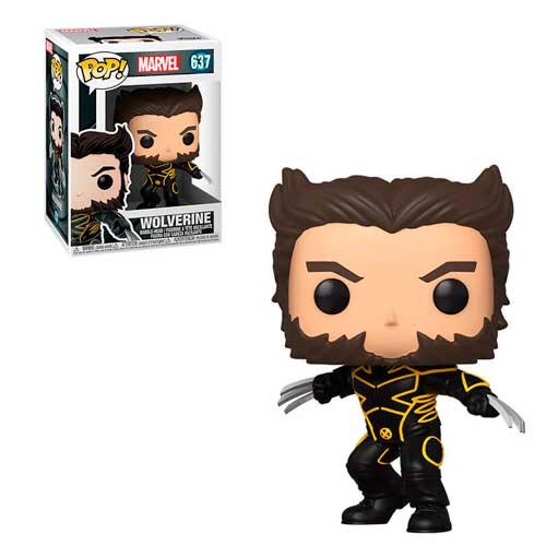 X-Men 20th Anniversary POP! Marvel Vinyl Figura Wolverine In Jacket 9 cm