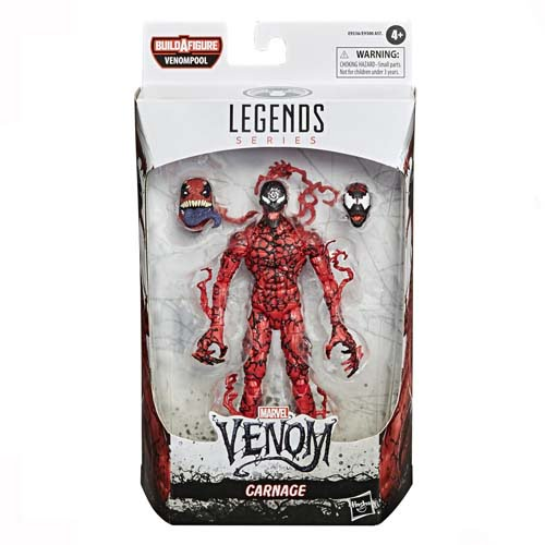 figura marvel legends carnage venom 2 hasbro 2020