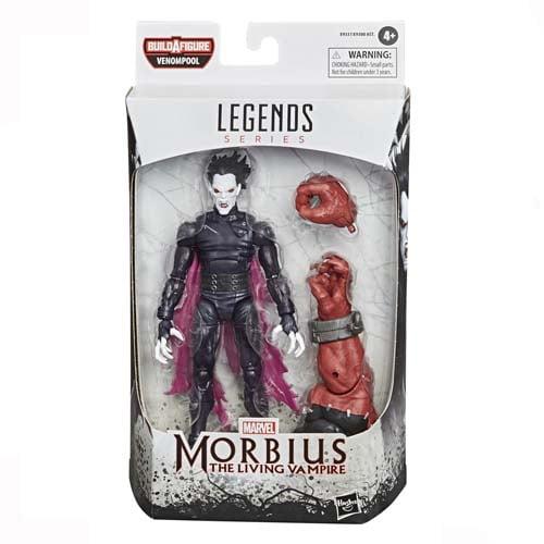 figura marvel legends morbius hasbro 2020