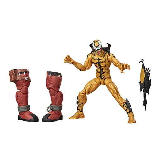 figura marvel legends venom phage hasbro 2020