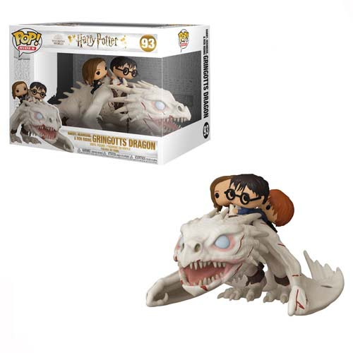 funko pop gringotts dragon harry potter