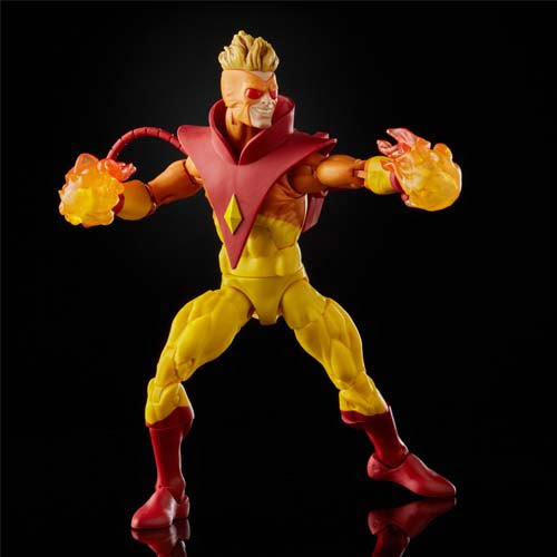 figuras marvel legends pyro and rogue x-men 20 aniversario