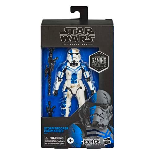 star wars black series stormtrooper commander gaming