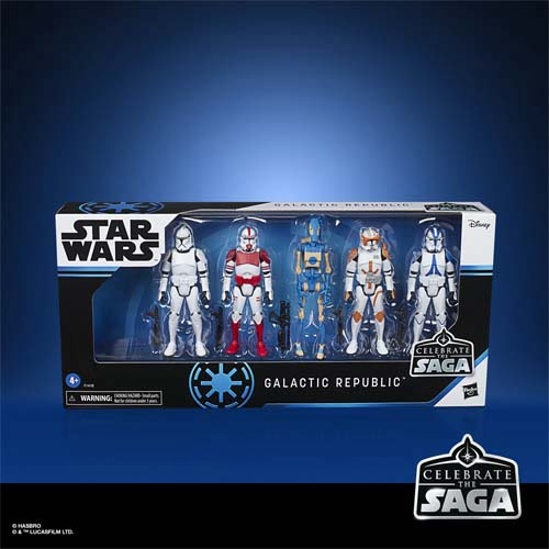 star wars celebrate the saga galatic republic 10 cm