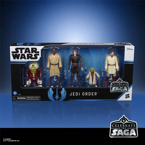 star wars celebrate the saga jedi order action figure set
