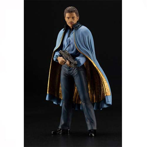 star wars episodio 4 art fx lando calrrisian 18 cm
