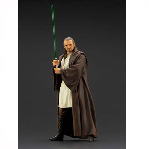 star wars-episodio i art fx qui gon jinn