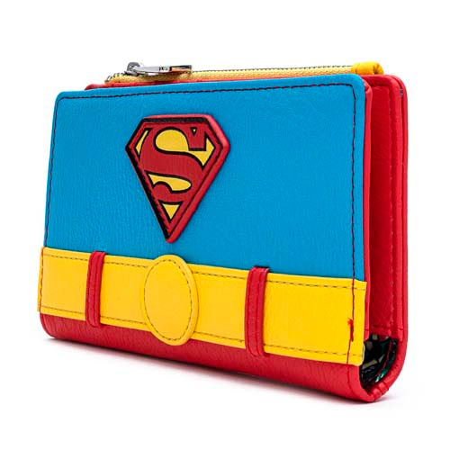 cartera loungefly dc comics superman classic cosplay
