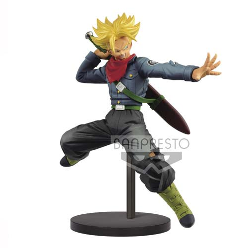 figura dragon ball super trunks future banpresto
