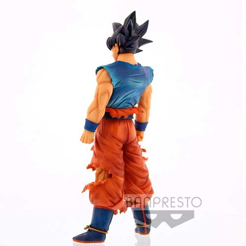 Figura Son Goku Ultra Instinct Sign Dragon Ball Super Grandista Nero