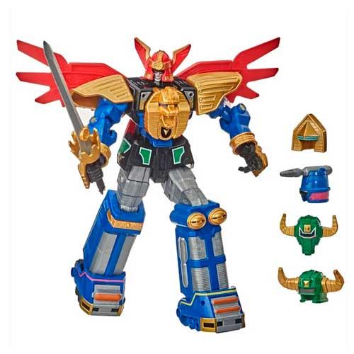 Figura Zeo Megazord Power Rangers Hasbro