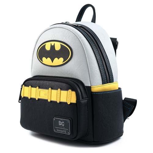 loungefly dc comics vintage batman mini mochila cosplay