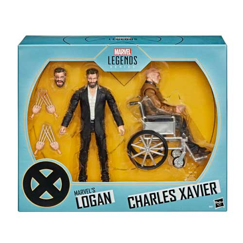 Marvel Legends Pack Logan y Charles Xavier