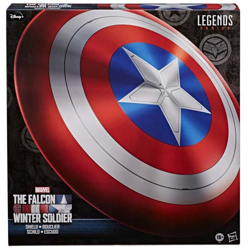 réplica escudo captián américa the falcon and winter soldier