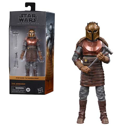 star wars black series the armorer the mandalorian