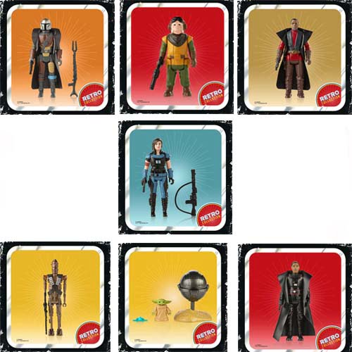 star wars retro collection wave the mandalorian