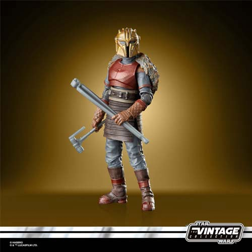 star wars the vintage collection the armorer the mandalorian