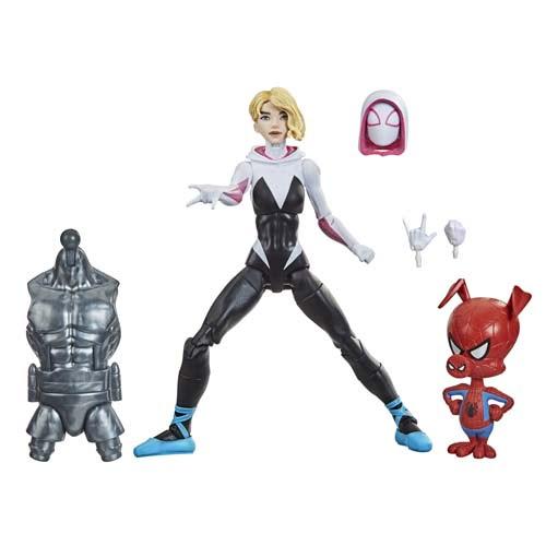 marvel legends gwen stacy spiderman with spider ham