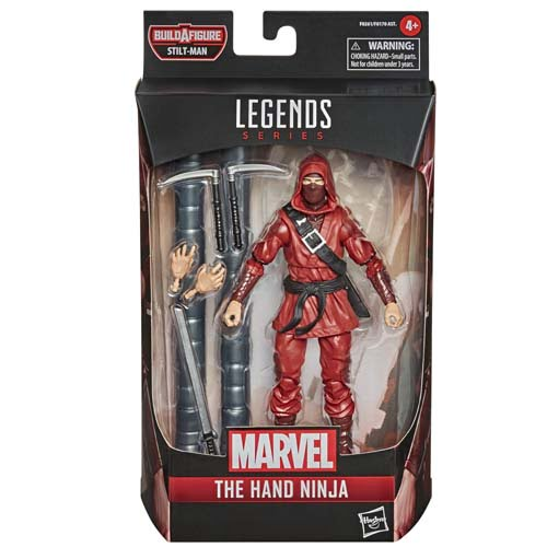 marvel legends the hand ninja spiderman