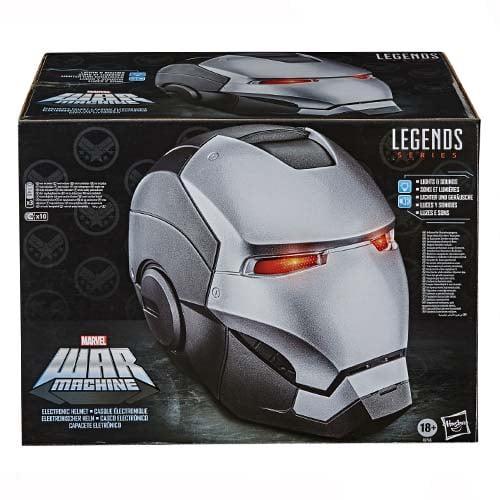 réplica casco war machine marvel legends