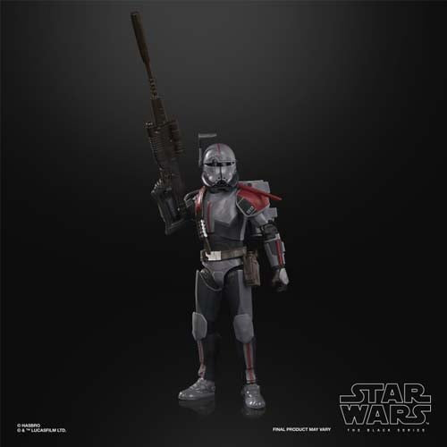 Star Wars The Black Series - Figura de Bad Batch Crosshair a escala de 15 cm - Star Wars: The Clone Wars.