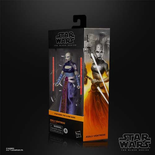 star wars black series assajj ventress the clone wars